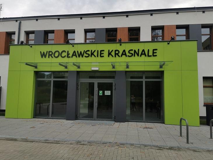 Wejście główne do przedszkola.